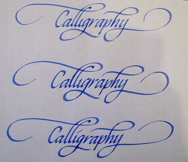 How to write gothic calligraphy letters