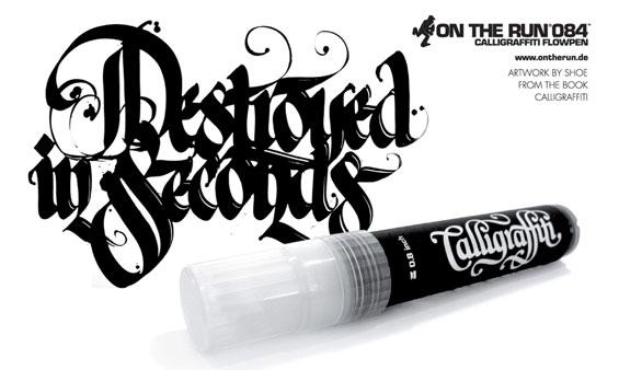calligraffiti Shoe marker