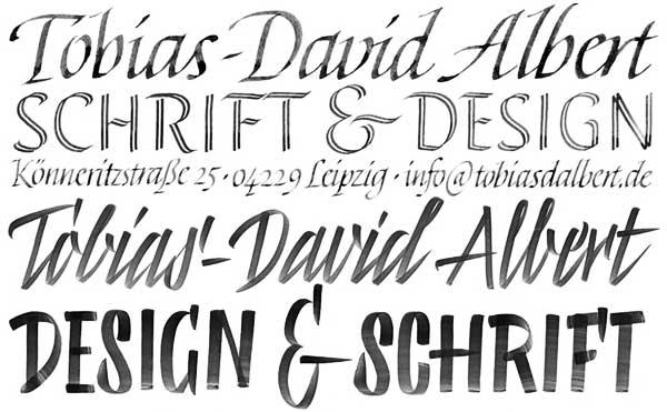 tobias-david albert calligraphy
