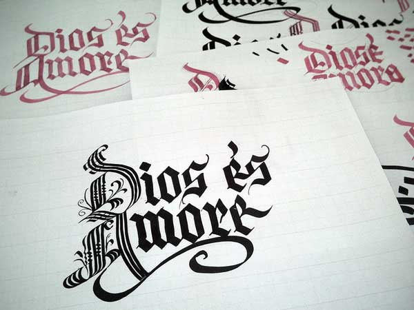 Jackson Alves calligraphy