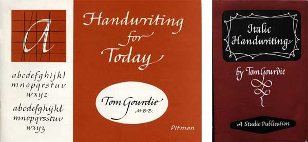 Tom Gourdie calligraphy books
