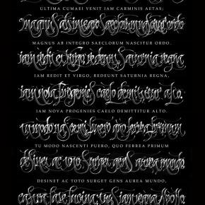 Chekal calligraphy