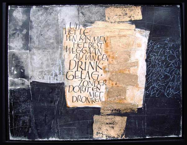 Yves Leterme calligraphy