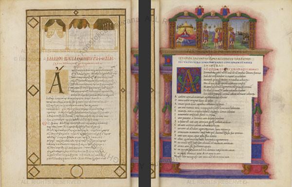 iliad manuscript
