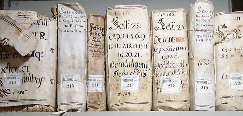 Манускрипты Библиотеки Ватикана