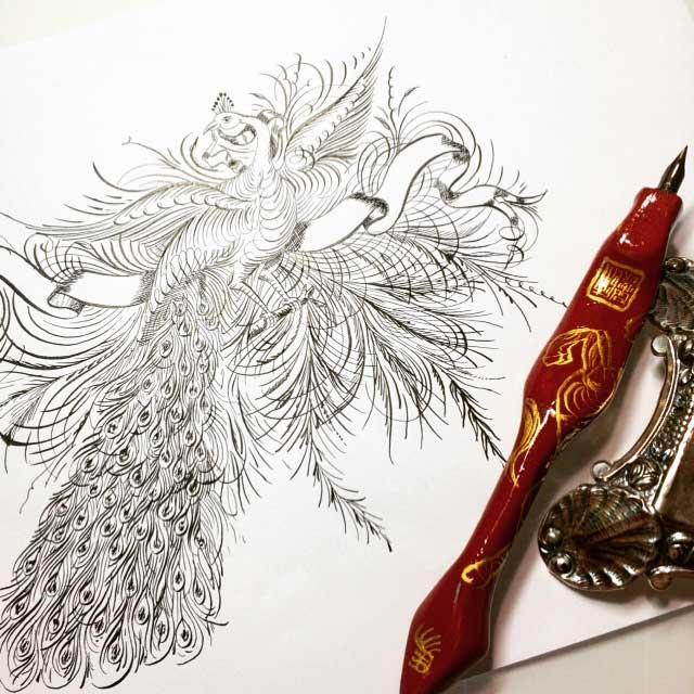 Connie Chen calligraphy